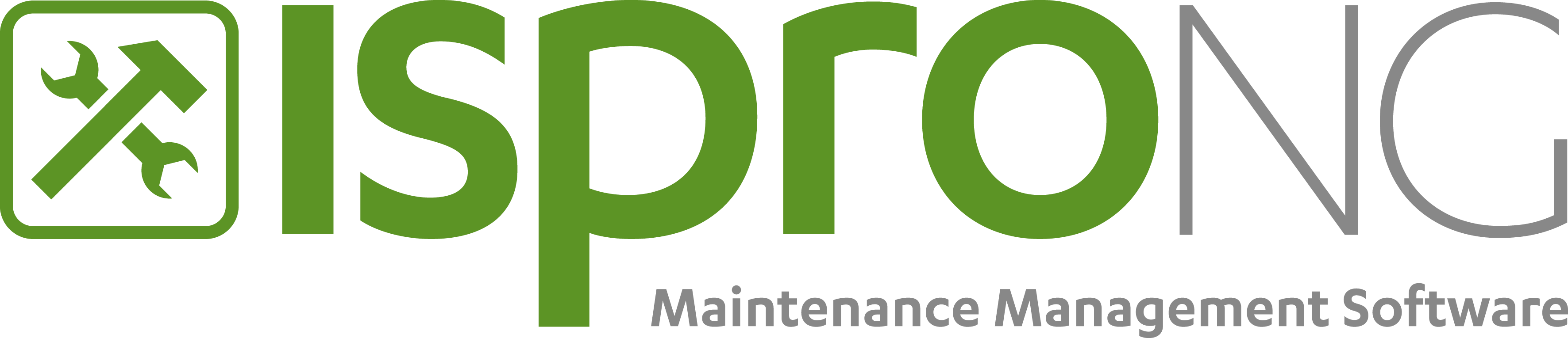 Logo isproNG Maintenance Management Software