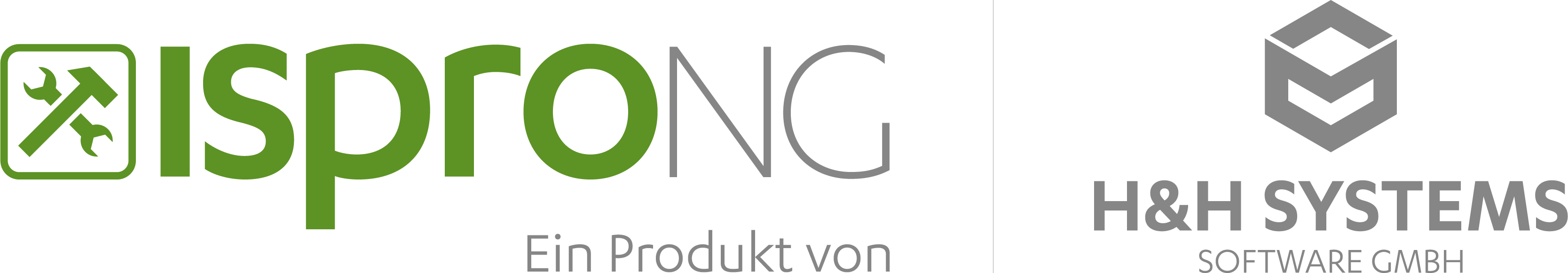 Combined logo isproNG - H&H Systems