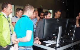 Präsentation von isproNG an den Demostationen