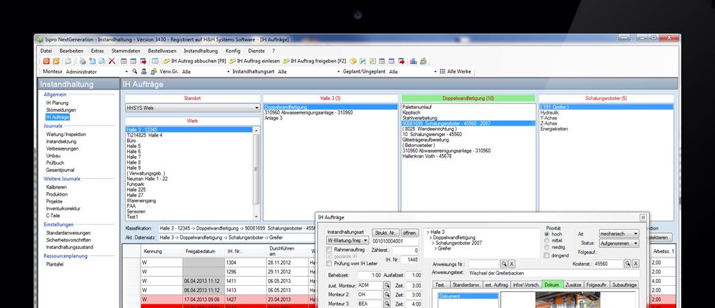 Software für die Instandhaltung - ispro_NG