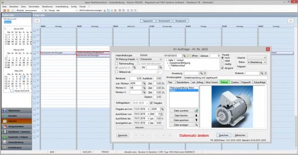 isproNG - Kalender Leadsystem