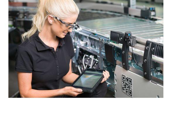 Mobile Instandhaltung mit ISPRO_Datenbrille und QR-Lösung