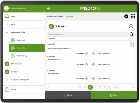ispro_NG_App_subtasks